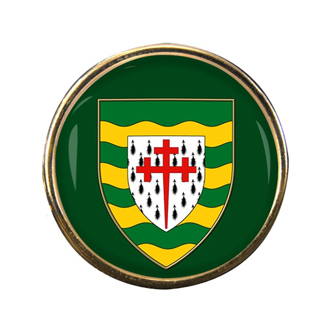 County Donegal (Ireland) Round Pin Badge