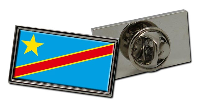 Democratic Republic of the Congo Flag Pin Badge