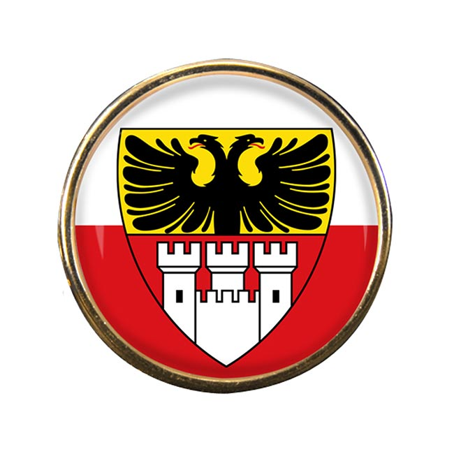 Duisburg (Germany) Round Pin Badge