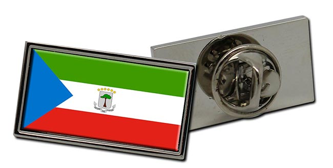Equatorial Guinea Flag Pin Badge