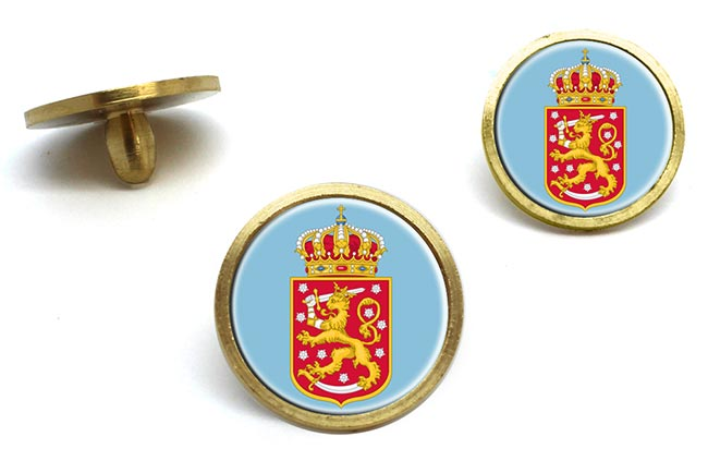 Finnish Coats of Arms Golf Ball Marker