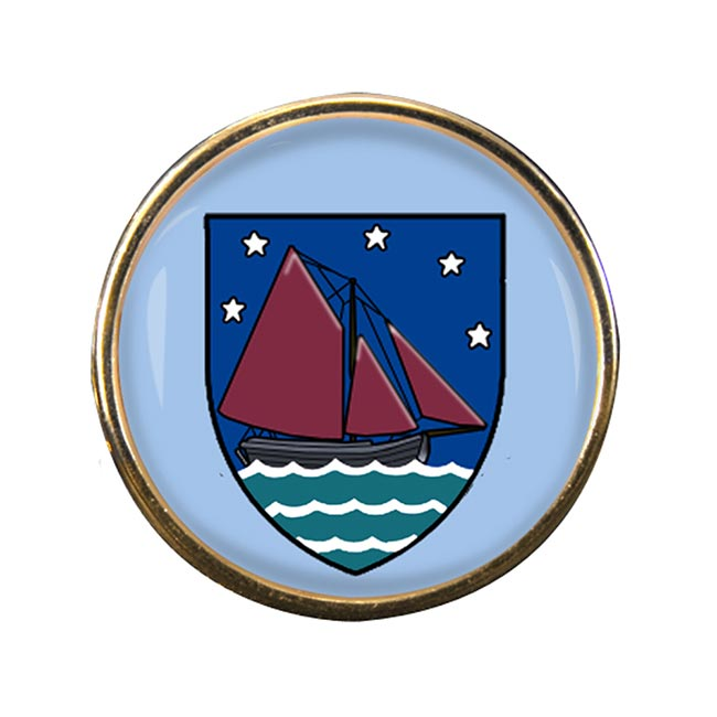 County Galway (Ireland) Round Pin Badge