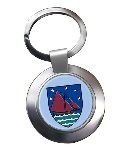 County Galway (Ireland) Metal Key Ring