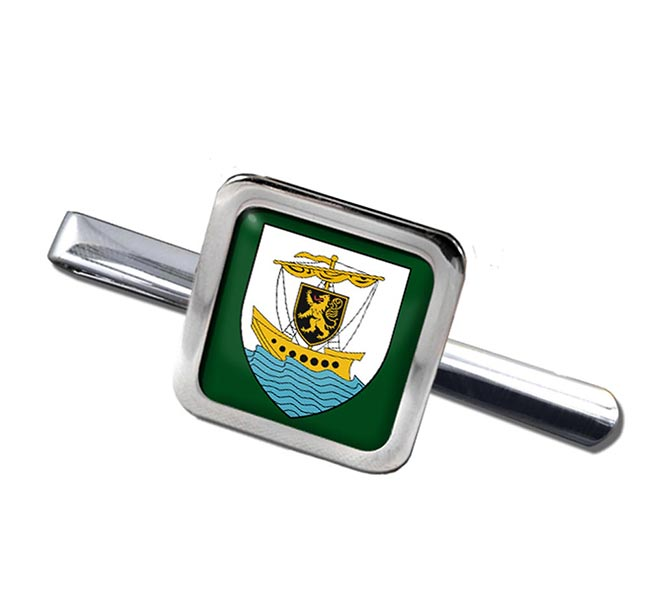Galway City (Ireland) Square Tie Clip