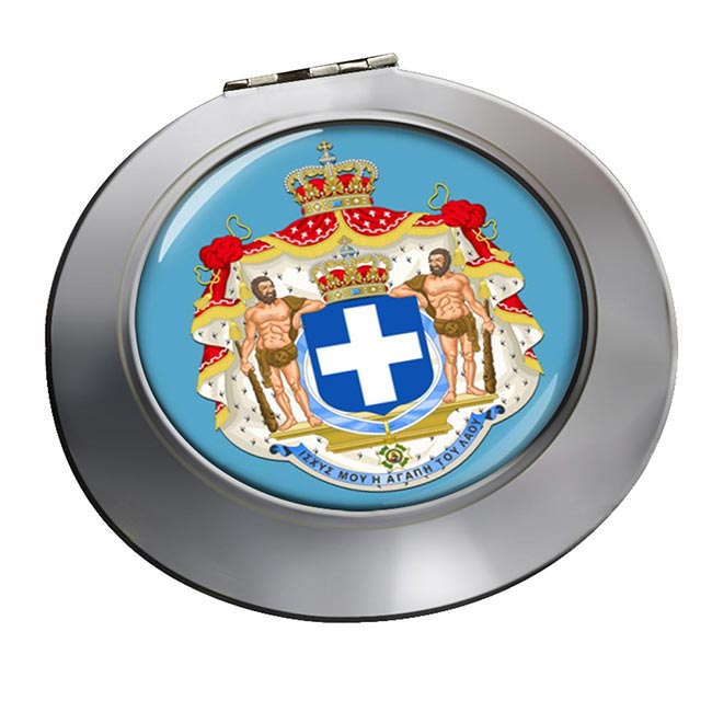 Kingdom of Greece  Round Mirror