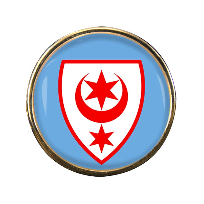 Halle (Germany) Round Pin Badge
