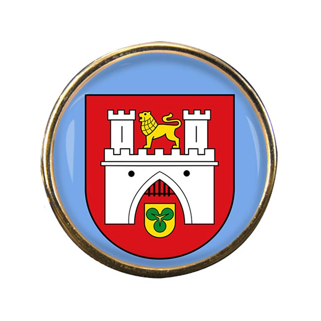 Hannover (Germany) Round Pin Badge
