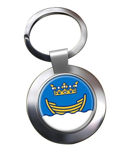 Helsinki Metal Key Ring