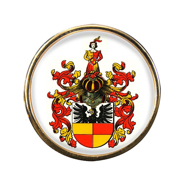 Hildesheim (Germany) Round Pin Badge
