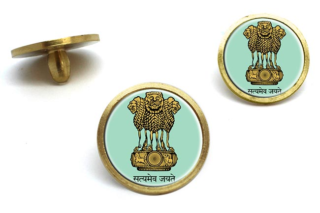 India Crest Golf Ball Marker
