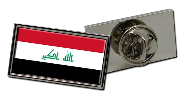 Iraq Flag Pin Badge