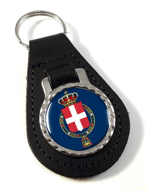 Regno d'Italia (Italy) Leather Key Fob