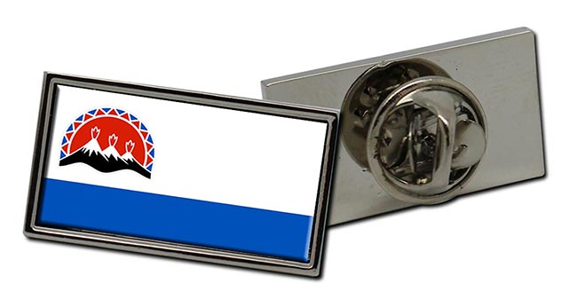 Kamchatka Krai Flag Pin Badge