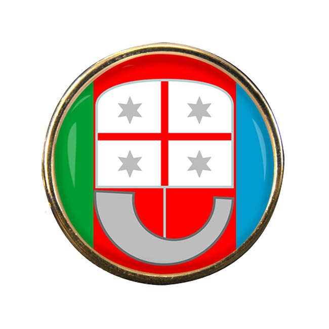 Liguria (Italy) Round Pin Badge