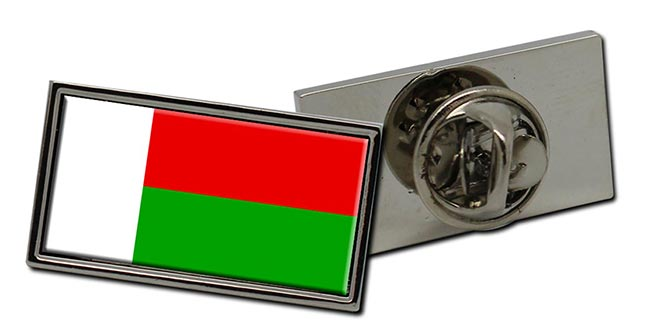 Madagascar Flag Pin Badge