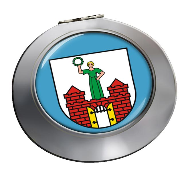 Magdeburg (Germany) Round Mirror