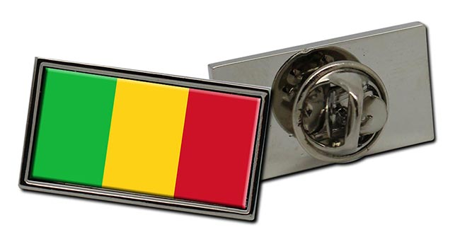 Mali Flag Pin Badge