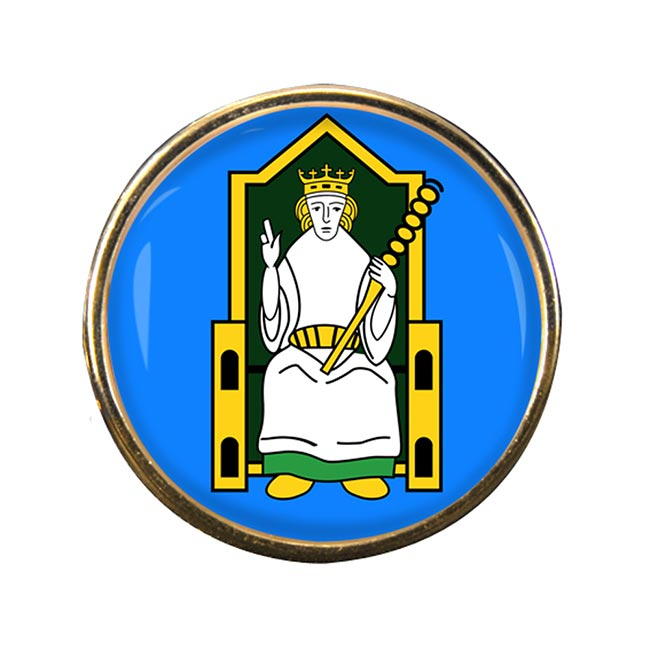 Kingdom of Meath (Mide) (Ireland) Round Pin Badge