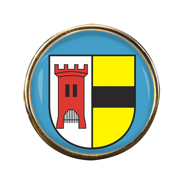 Moers (Germany) Round Pin Badge