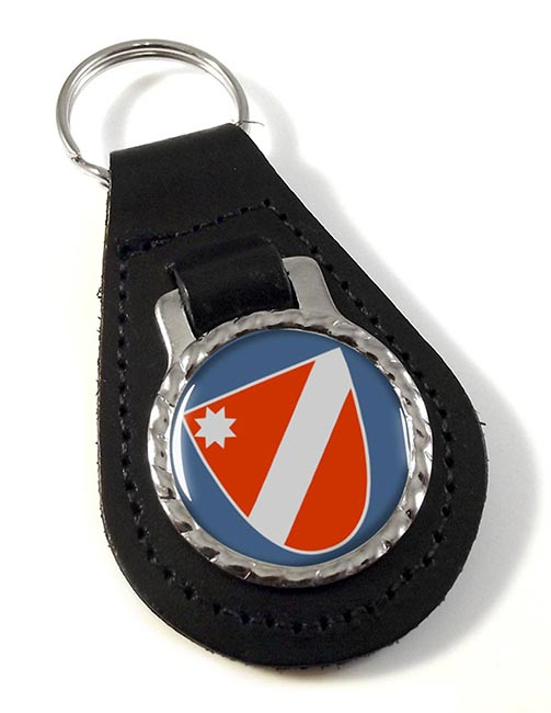 Molise (Italy) Leather Key Fob
