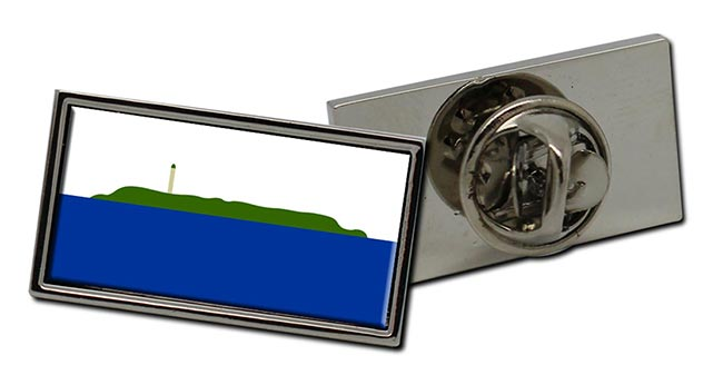 Navassa Island Flag Pin Badge