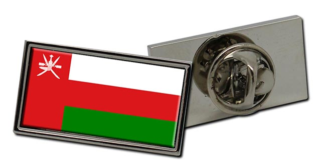 Oman Flag Pin Badge