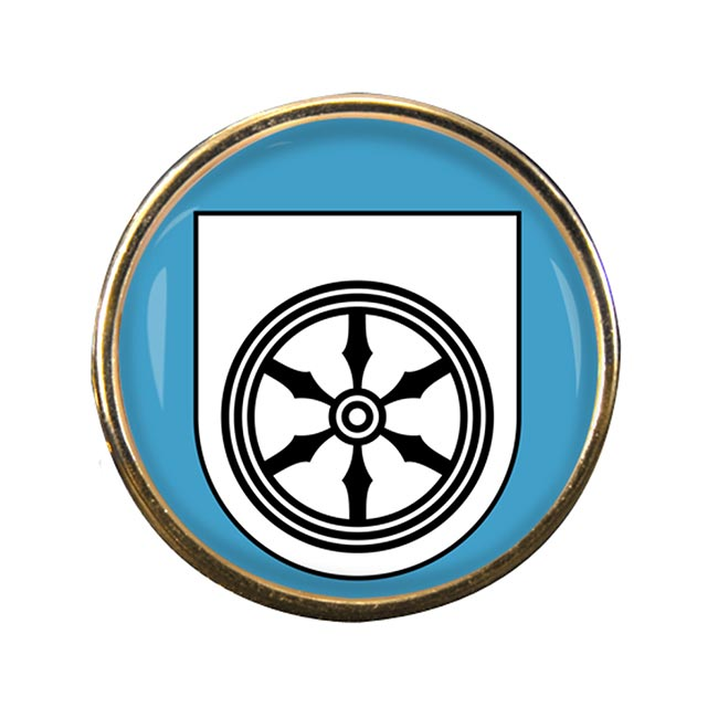 Osnabruck (Germany) Round Pin Badge