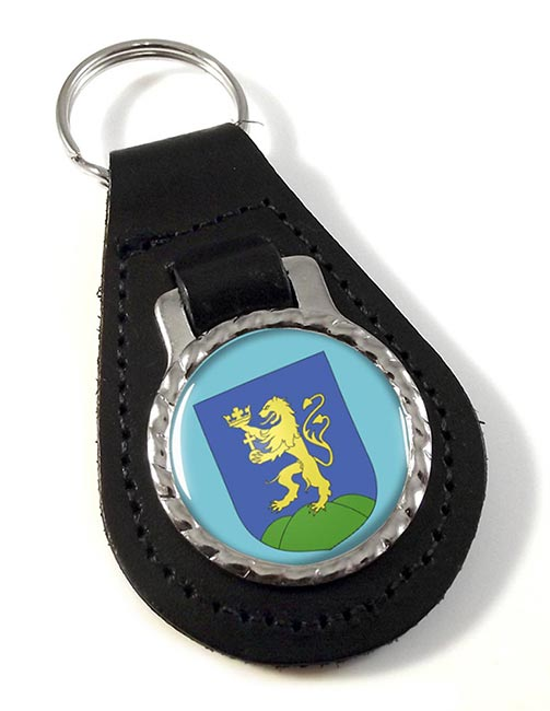 Pest Leather Key Fob