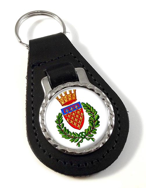 Prato (Italy) Leather Key Fob