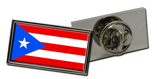 Puerto Rico Flag Pin Badge