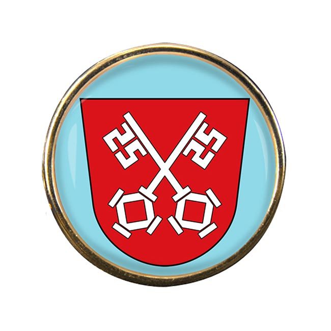 Regensburg (Germany) Round Pin Badge