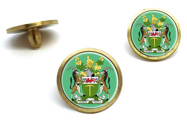 Rhodesia Golf Ball Marker