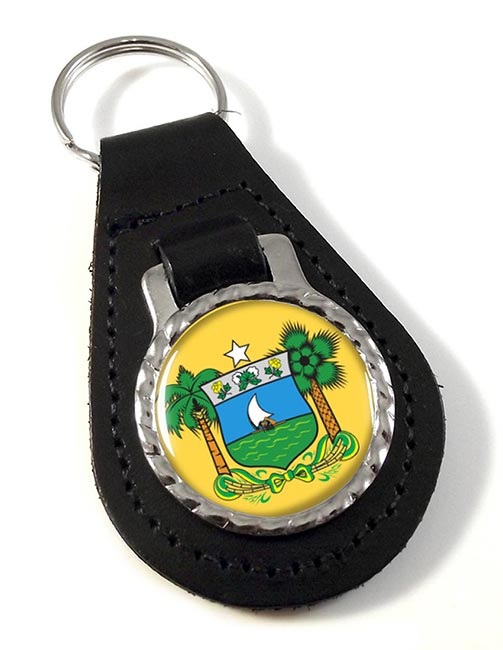 Rio Grande do Norte (Brasil) Leather Key Fob