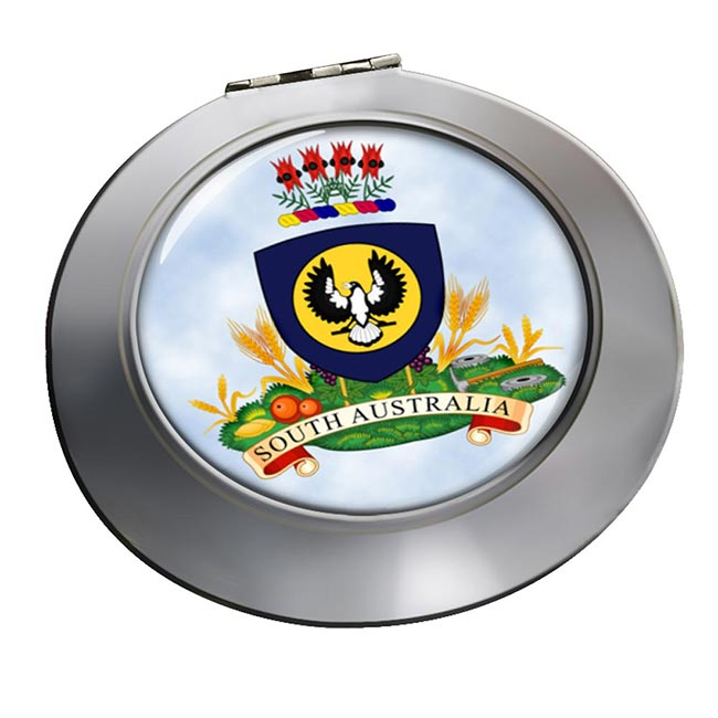 South Australia Coat of Arms  Round Mirror