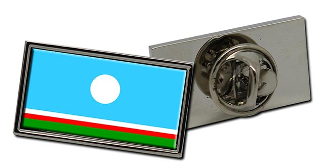 Sakha Republic Flag Pin Badge
