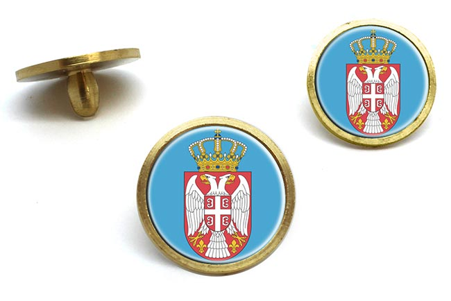 Coat of Arms   (Serbia) Golf Ball Marker