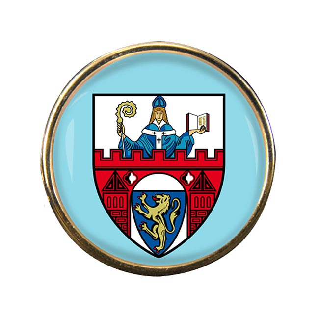 Siegen (Germany) Round Pin Badge