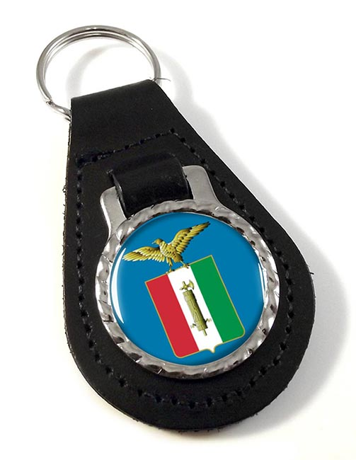 Repubblica Sociale Italiana (Italy) Leather Key Fob