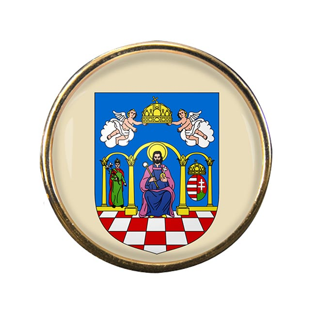Tolna Round Pin Badge