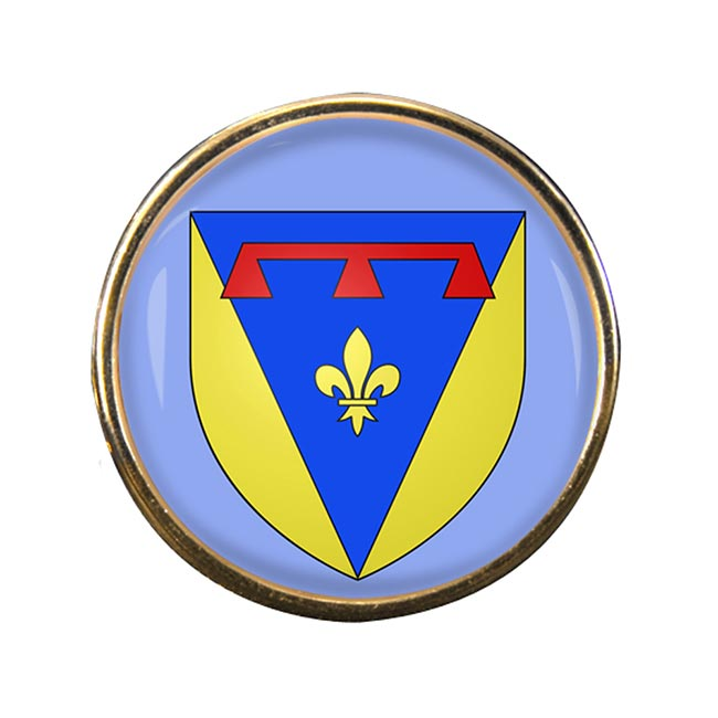 Var (France) Round Pin Badge