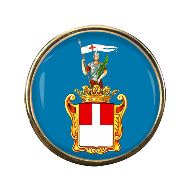 Varese (Italy) Round Pin Badge