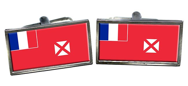 Wallis et Futuna Flag Cufflinks