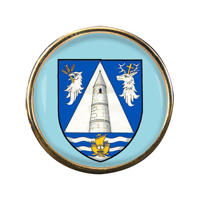 County Waterford (Ireland) Round Pin Badge