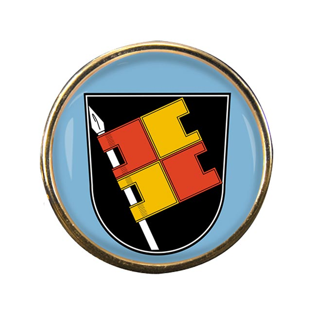 Wurzburg (Germany) Round Pin Badge
