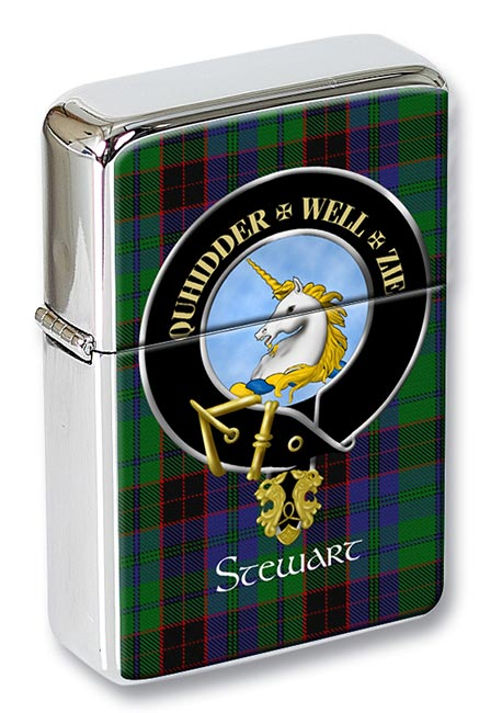 Stewart of Appin Scottish Clan Flip Top Lighter