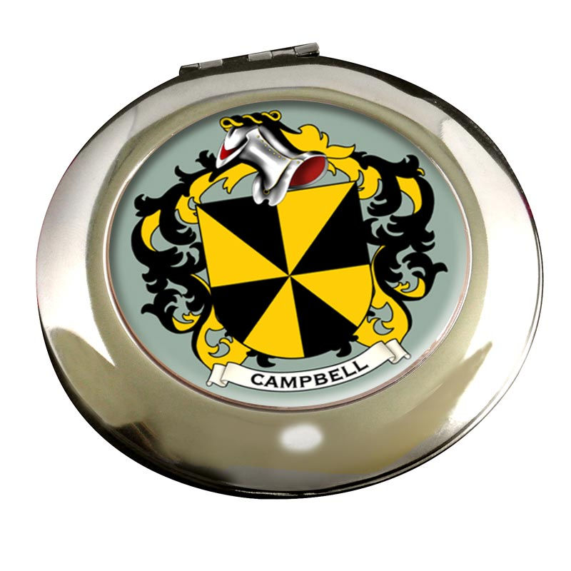 Campbell of Argyll Coat of Arms Chrome Mirror