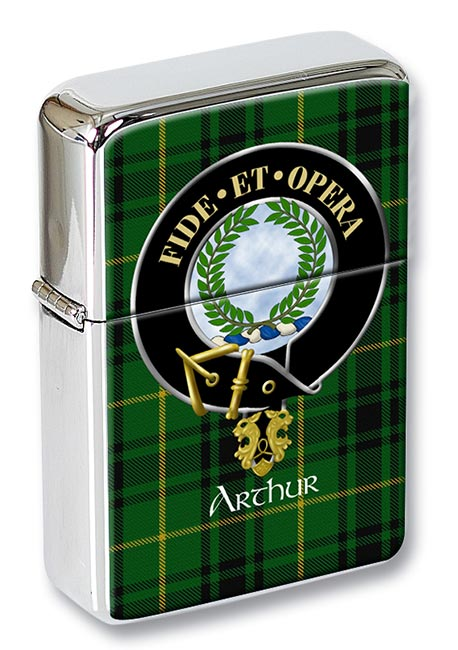 Arthur Ancient Scottish Clan Flip Top Lighter