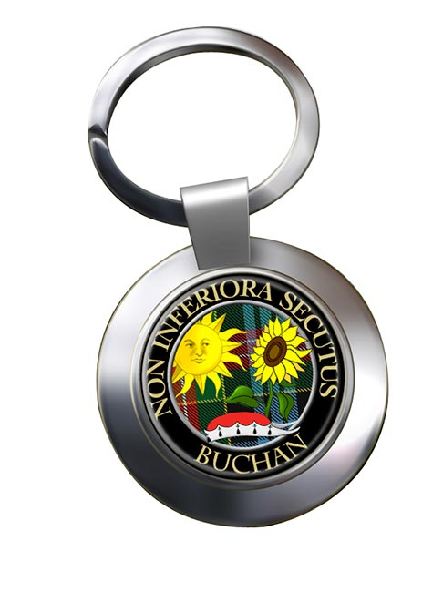 Buchan Scottish Clan Chrome Key Ring
