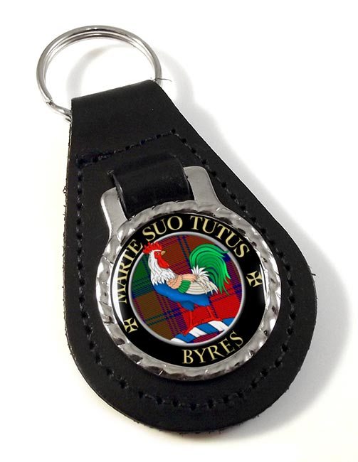 Byres Scottish Clan Leather Key Fob