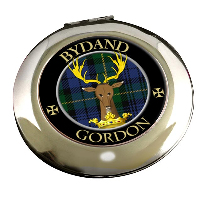 Gordon Scottish Clan Chrome Mirror